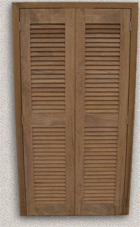 louvered interior doors for convenient and bright