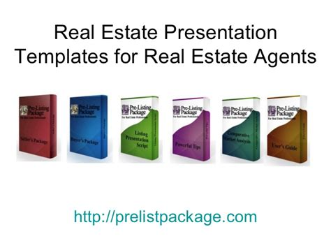 sle real estate presentation templates