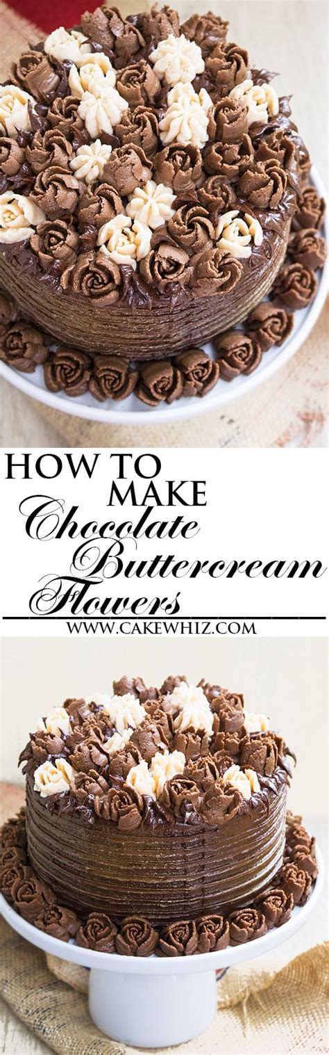 Wedding Cakes For Beginners by Learn How To Make Buttercream Flowers Witch Chocolate