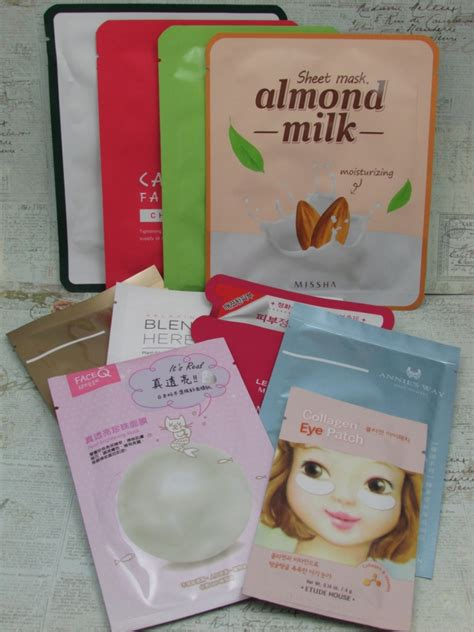 Korean Giveaway - it s a giveaway win 10 korean sheet masks for all skin types glam and uncensored