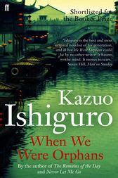 when we were orphans when we were orphans ebook by kazuo ishiguro 9780571249374