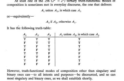 if p then q table logic p unless q in which r mathematics stack