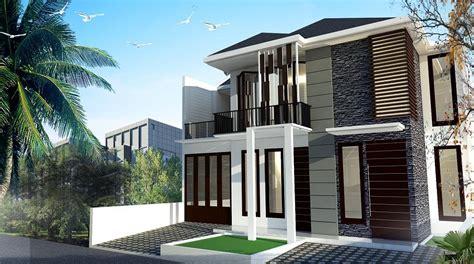 design exterior rumah minimalis modern aneka gambar desain rumah minimalis 2 lantai berbagai type
