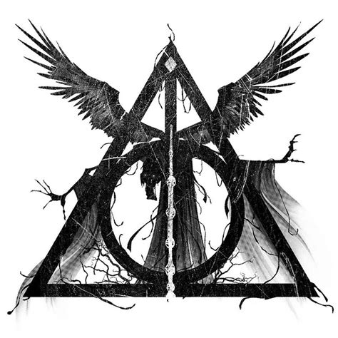 The Deathly Hallows by The Deathly Hallows Created By Himself Tattoos And