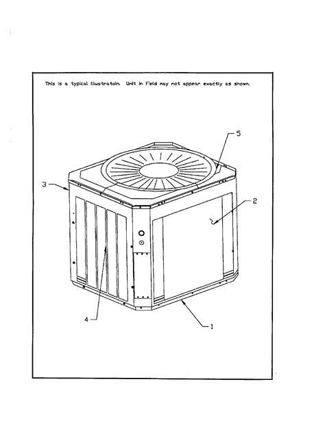 trane furnace parts diagram trane trane hvac parts model ttx048d100a0 sears