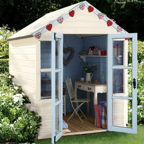 Coloured Garden Sheds by 10 Bunting Ideas Gardens Shed Office And Garden Buildings