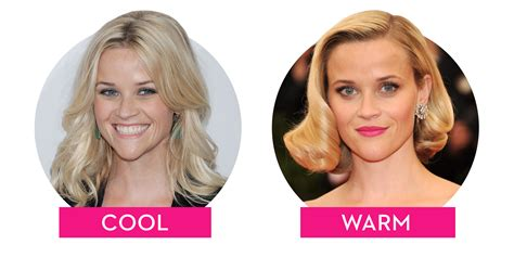 how to change your look warm vs cool toned hair colors how hair undertones