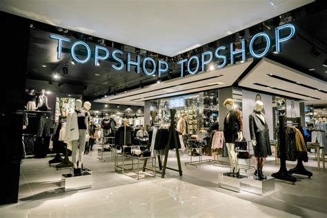 Topshop Grid topshop and topman s largest international store opens in
