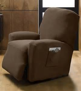 Recliner by using a chair slipcover you can add a slipcover to change