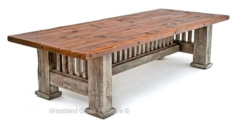 best wood dining table reclaimed barnwood dining table mission style dining