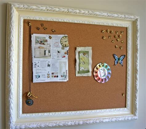 Handmade Bulletin Board - diy bulletin board crafts diy