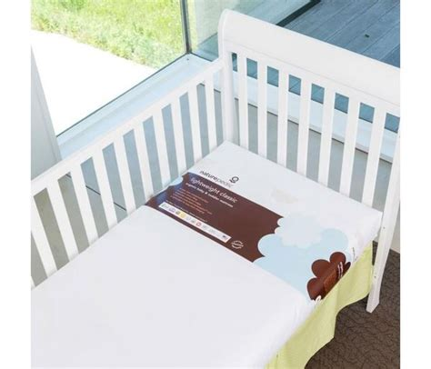 No Compromise 174 Lightweight Organic Cotton Crib Mattress Naturepedic No Compromise Organic Cotton Classic Lightweight Crib Mattress