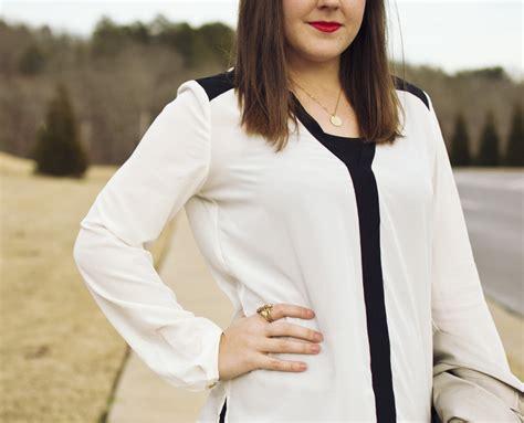 Blouse Pita Aj 2 aj wears a black white blouse aj wears clothes