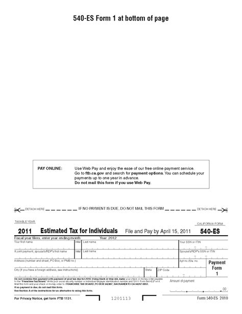 general instructions for certain information returns 2016 2016 estimated tax payment 540 es forms download pdf