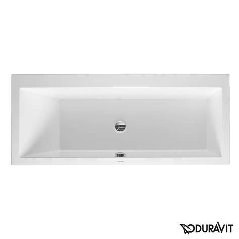 rechteck badewanne duravit vero rechteck badewanne einbauversion oder