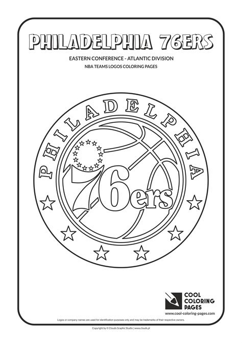 villanova basketball coloring pages cool coloring pages nba teams logos philadelphia 76ers