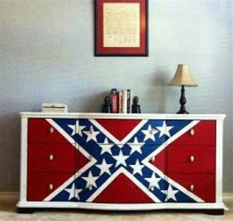 confederate flag home decor