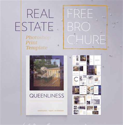 Real Estate Brochure Template Free