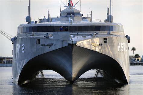 catamaran military ship wallpaper hsv 2 swift catamaran u s navy high speed