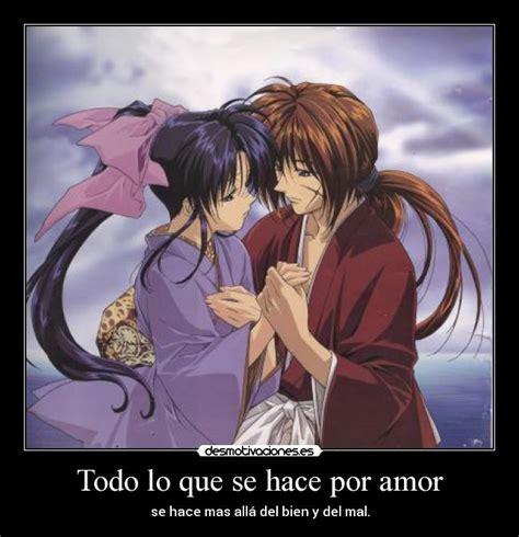Imagenes Romanticas De Samurai X   samurai x frases de amor bellas imagenes para compartir