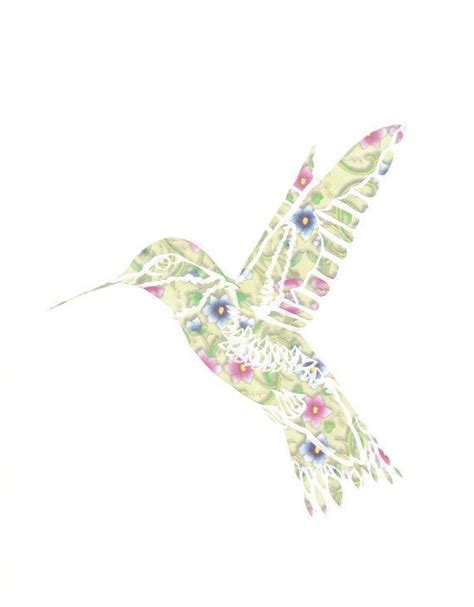 paper hummingbird template 59 best papercuts images on