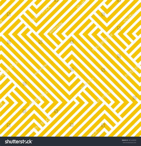 background pattern yellow vector geometric pattern by stripes seamless vector stock vector
