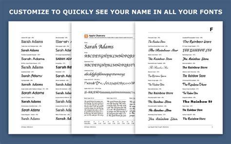 printable font catalog font catalog creator download app mac lisisoft