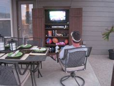 outdoor tv armoire outdoor tv cabinet on pinterest tv cabinets tv wall cabinets and o
