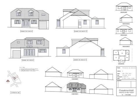 bungalow with loft floor plans constructaid loft conversion