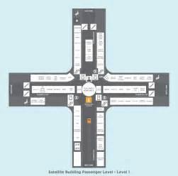 klia airport floor plan passenger procedures for transit in malaysia airport