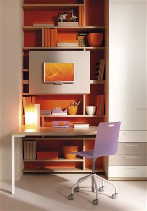 Desk Wardrobe Units by Junior Bed Wardrobe Desk Wall Units Idfdesign