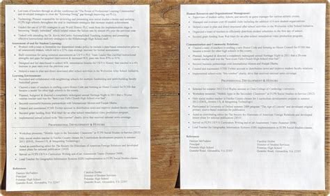 Resume Tips For Teaching by Resume Tips For Teachers