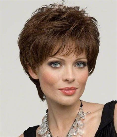cute haircuts for 40 year olds with round face short hairstyles for women over 40 with round faces