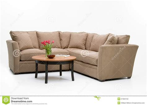 sofa table set fabric sofa set table stock photo image 21384150