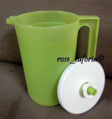 Tupperware Blossom Pitcher rose euforia my tupperware collection tupperware apple