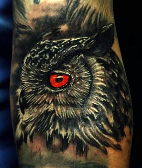 owl tattoo red 17 best images about tattoos on pinterest owl tat