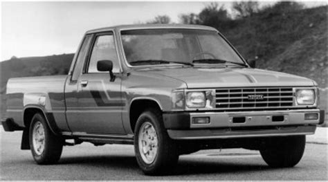 Toyota Stock History Picture Of 1985 Toyota Up