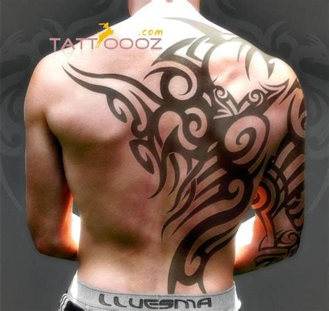 sick tribal tattoos for men 2015