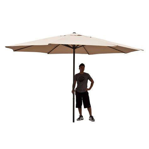 X2 3746 St Umbrella large patio umbrella 13 ft beige tent deck gazebo sun shade cover market ebay