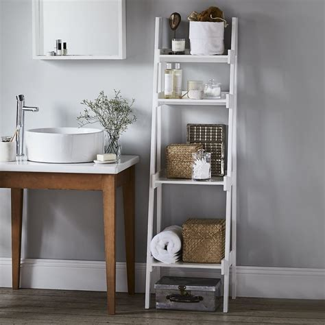 bathroom ladder shelves best 25 bathroom ladder shelf ideas on pinterest white
