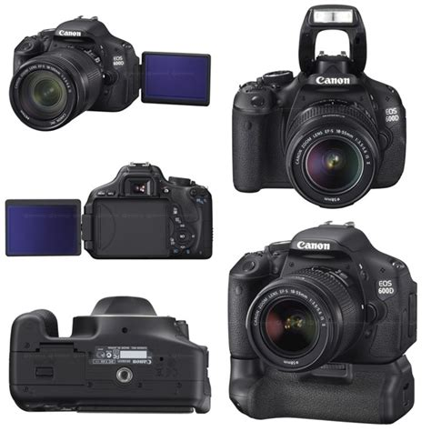Canon 500d Dan 600d the electric canon eos 600d 18 megapixel