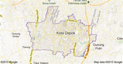 Jual Polybag Murah Kota Depok Jawa Barat peta kota depok jawa barat urbanindo rumah dijual