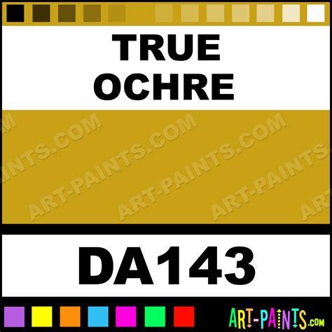 true ochre decoart acrylic paints da143 true ochre paint true ochre color americana