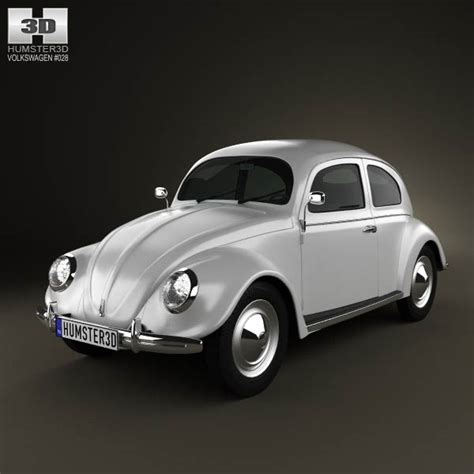 3d Model Vw Beetle