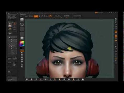 zbrush polypaint image based color palette doovi