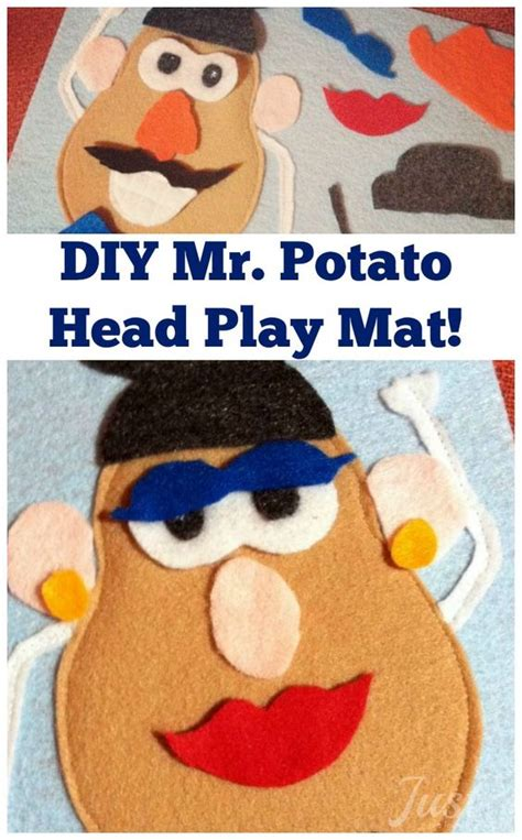 mr potato felt template potato heads play mats and book projects on