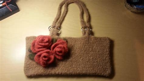how to make a purse with crochet bag felted crochet handbag crochet purse tutorial