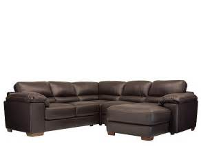 4 Pc Sectional Sofa Maglie 4 Pc Leather Sectional Sofa Sectional Sofas Raymour And Flanigan