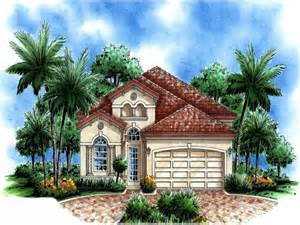 small mediterranean style house plans spanish