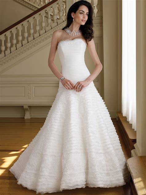 A Line Wedding Dresses by White A Line Princess Wedding Dress Ipunya